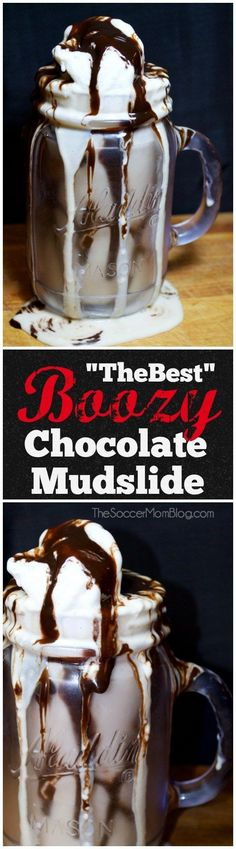 All it takes is one sip of this rich, thick, creamy, chocolatey, boozy goodness and you'll get it. This is THE best chocolate mudslide recipe ever.
