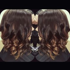Baylage - ombre! Hair color & diagonal forward hair cut <3 KAS