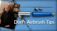 I have stumbled across couple of sites that actually may help not only me in getting new ideas but also help you in our journey called airbrush