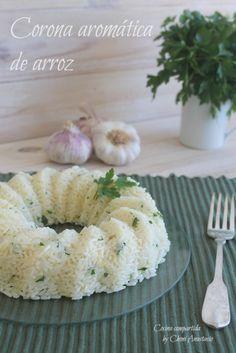 Cocina compartida: CORONA AROMÁTICA DE ARROZ