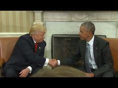 Ameryka P * ssed w CHORYCH Thing Obama zrobił Donald Trump tuż przed Wczorajsze spotkanie! * LIBERTY WRITERS NEWS