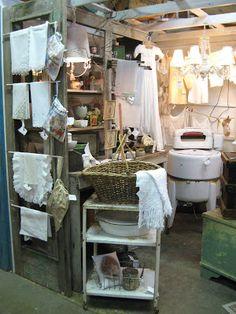 Laundry display