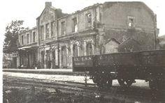 Spain - 1937. - GC - Estación de Gernika. Gernikako tren geltokia. #Gernika…