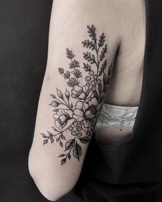 Image result for botanical tattoo