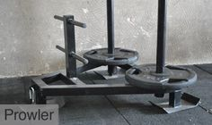 Prowler sled - kicked my butt..
