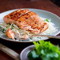 Japanese Style Glazed Salmon