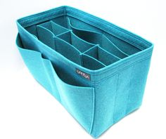 Samorga L3. (W11.8 H6.8 D4.8in) Felt organizer bag insert