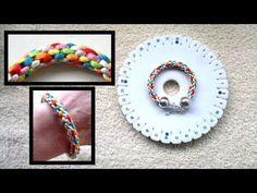 Beading4perfectionists : Kumihimo bracelet : basic braid beginners tutorial - YouTube