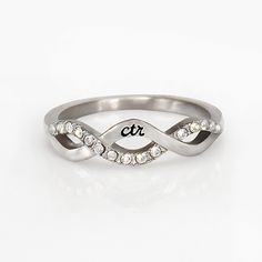 Crossover CTR Ring | New on LDSBookstore.com (#D-RM-C17872)