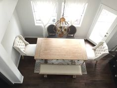 Z Gallerie Archer Dining Table Bench And Chairs