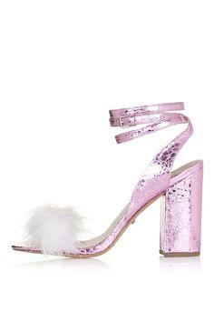 Sandales avec plumes RAZZLE | Topshop