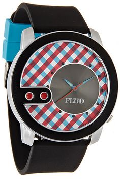 The Exchange Watch in Red & Blue  Unisex's Watches By Flud