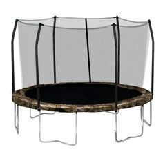 Skywalker Trampolines Round Trampoline and Enclosure with Camo Spring Pad, 12 Feet Skywalker http://www.amazon.com/dp/B00IKH1ZJU/ref=cm_sw_r_pi_dp_u2GKtb1QF6C0A42Q