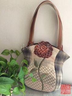 Japanese Bag, Japanese Fabric, Fabric Bags, Louis Vuitton Damier, Quilts, Purses, Blog, Pattern, Fashion