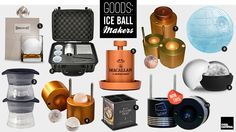 Goods: Ice Ball Makers | Cool Material