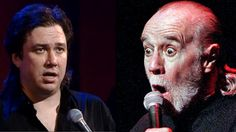 Bill Hicks and George Carlin Fusion May Just Break the System-Bill Hicks and George Carlin sum up the existence of the universe in this mash-up that combines clips of the legendary comics into one mind expanding piece. I could do without the auto-tune, but the message is the same - the world just a ride that goes round and round.