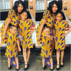 Choose from the best and beautiful matching African ankara styles for mother and daughter. These ankara styles are meant for stunning mother and daughter African Fashion Ankara, Latest African Fashion Dresses, African Print Fashion, African Style, African Kids, Africa Fashion, African Prints, Ankara Styles For Kids, Trendy Ankara Styles