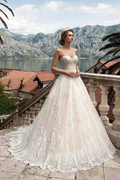 Cheap bride gowns, Buy Quality lace wedding dress directly from China plus lace wedding dress Suppliers: Loverxu Romantic Sweetheart A Line Lace Wedding Dresses 2017 Appliques Court Train Vintage Robe De Marriage Bride Gown Plus Size Puffy Wedding Dresses, 2016 Wedding Dresses, Sweetheart Wedding Dress, Perfect Wedding Dress, Elegant Wedding Dress, Cheap Wedding Dress, Bridal Dresses, Wedding Gowns, Lace Wedding