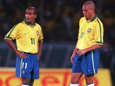 Romário e Ronaldo