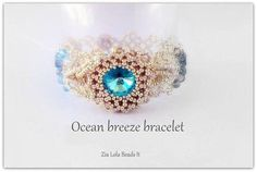 Best Seed Bead Jewelry  2017  Ocean Breeze Bracelet TUTORIAL