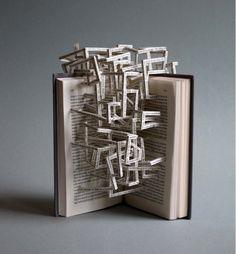 Cut Paper Book
