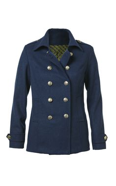 Singing the blue will feel like a sunny day when you're rocking your #CAbi Fall 2013 Prep School Coat!