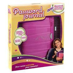 PASSWORD JOURNAL® - Shop.Mattel.com
