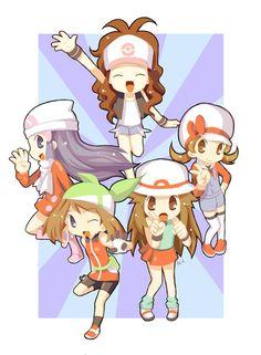Chibi poke girls