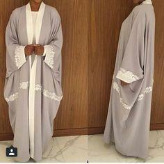 Beautiful summery abaya