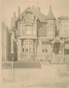 Houses lost in the April 18th 1906 San Fransisco Earthquake and subsequent fire.