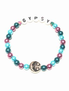 A personal favorite from my Etsy shop https://www.etsy.com/listing/535606285/gypsy-kandi-bracelet-sun-and-moon-rave