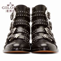 genuine leather boots new ankle motorcycle rivets women boots fashion shoes women autumn winter shoes woman #Y3208047F  #fashion #stylish #styles #hair #beauty #outfitoftheday #beautiful #jewelry #jennifiers #outfit #model #cute #makeup #purse #style