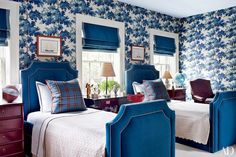 Bedroom Decorating Inspiration: Soothing Shades of Blue Photos | Architectural Digest