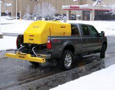 "SnowEx VSS 2000 de-icing sprayer. Liquid de-icing system. 200 gallon with 84"" boom truck sprayer."