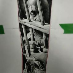 Chicano Tattoos Gangsters, Chicano Tattoos Sleeve, Gangster Tattoos, Body Art Tattoos, Chicanas Tattoo, Clown Tattoo, Dark Tattoo, Prison Drawings, Chicano Drawings