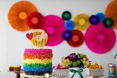 Festa artes por Bella Fiore. Artsy Party by Bella Fiore.