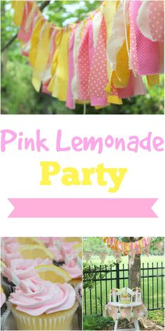 This past weekend was my baby girl's first birthday and we celebrated by throwing her a pink lemonade party! It was so much fun and turne