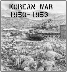 July 1953 - Fighting ceases in the Korean War. North Korea, South Korea, the United States, and the Republic of China sign an armistice agreement. Military Art, Military History, Military Tactics, World History, World War Ii, Family History, Korean War, Interesting History, Panzer