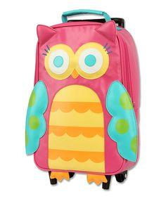 Look at this #zulilyfind! Rolling Backpack Owl by Stephen Joseph #zulilyfinds