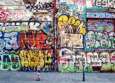 Graffiti wall Paris (France)