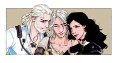 Yennefer Witcher, Geralt And Ciri, Witcher Art, Yennefer Of Vengerberg, Witcher Wallpaper, The Witcher Game, Artwork Images, Wild Hunt, Cyberpunk 2077