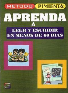 Método Pimienta para que los niños aprendan a leer