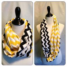 Infinity Scarf/Breastfeeding cover- TWO TONED CHEVRON on Etsy, $19.00