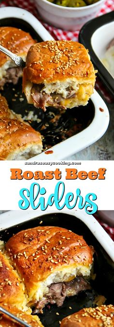 Delicious #recipe for Roast Beef Sliders