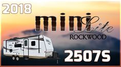 2018 Forest River Rockwood Mini Lite 2507S Travel Trailer RV For Sale All Seasons RV Supercenter Buy this 2018 Forest River Rockwood Mini Lite 2507S Travel Trailer RV now at http://ift.tt/2ePJUKI or call All Seasons RV today at 231-760-8772!  Embark on your next camping trip with the new 2018 Rockwood Mini Lite 2507S Travel Trailer. Find it today at All Seasons RV!   This is a double-axle travel trailer with 1 slide out aluminum cage construction including roof and floors large pass-through…