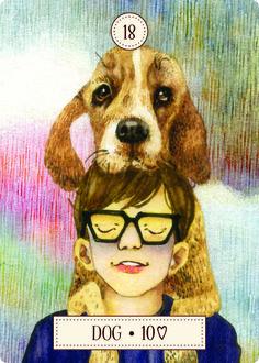 Dog Lenormand – Free Tarot Tutorials - tarotingie.com