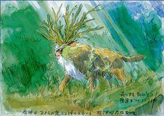 Forest King - Mononoke - Miyazaki