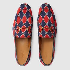 Gucci Gucci Rhombus print loafer Detail 3