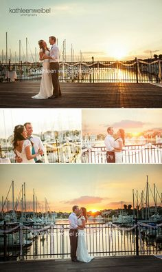 Kathleen Weibel Photography - Kemah Wedding Photographer - Beautiful Marina Wedding