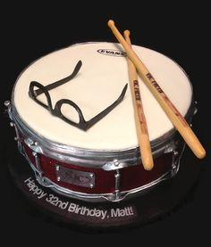 Snare drum cake                                                       …